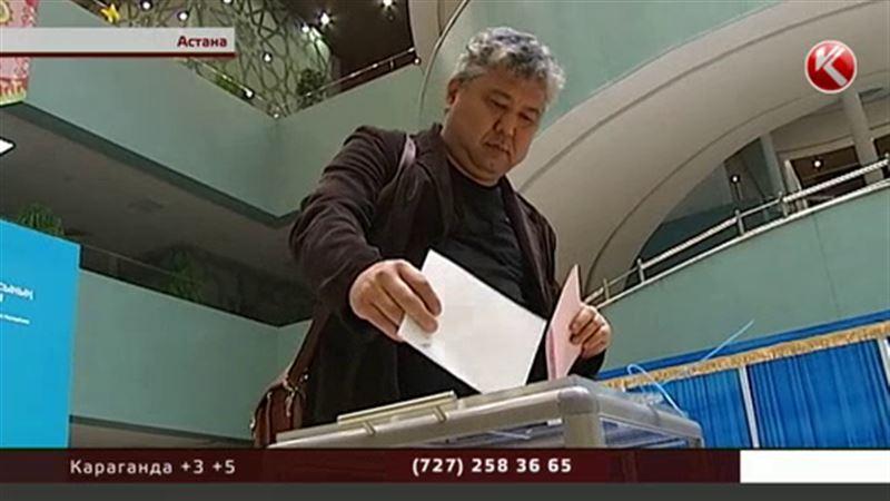 Лучше всех голосуют в Костанайской области, хуже всех - в Алматы