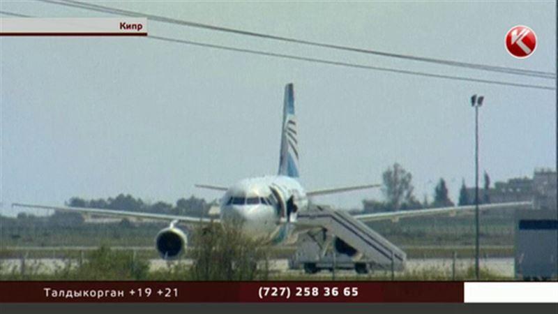 Задержали угонщика, который захватил лайнер египетской авиакомпании