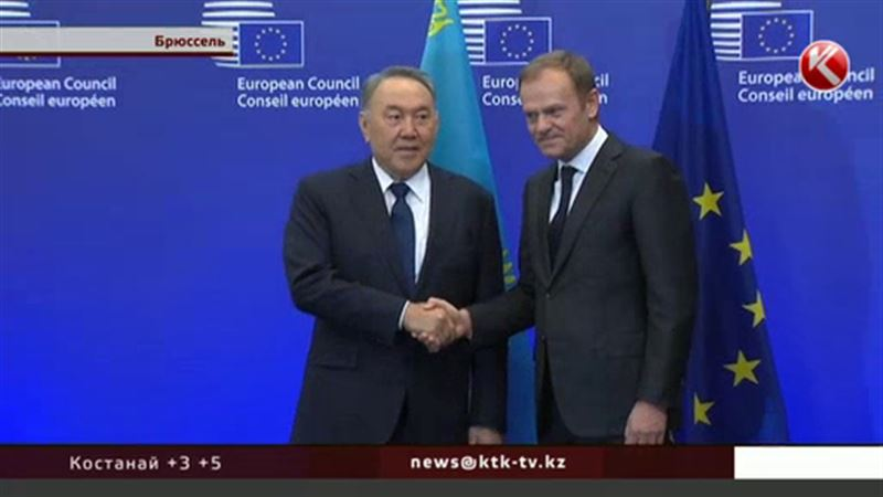 Назарбаев просит Евросоюз отменить визовый режим