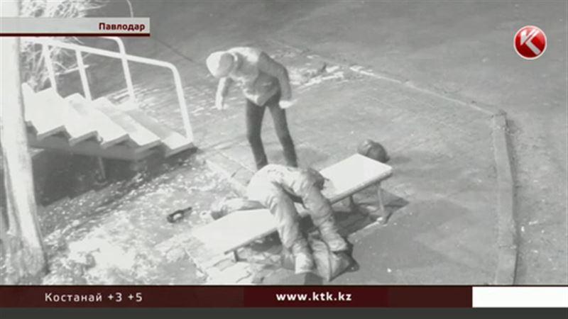 В Павлодаре разыскивают изверга, который жестоко избил бомжа Володю