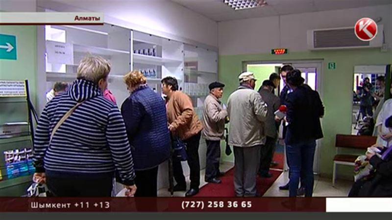 Битва за лекарства: алматинские старики устроили столпотворение