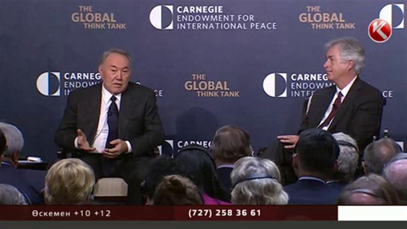 Америкада жүрген Назарбаев өзін «диктатор» деп атайтын сыншыларға жауап берді