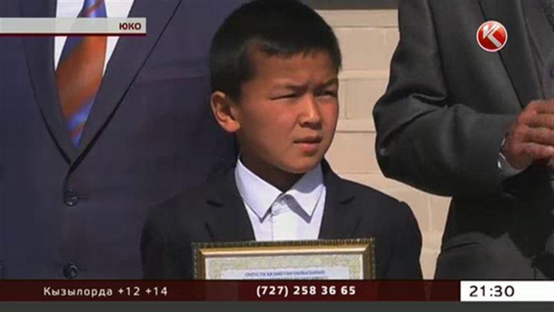 Школьник из ЮКО вынес из бурного потока трехлетнюю девочку