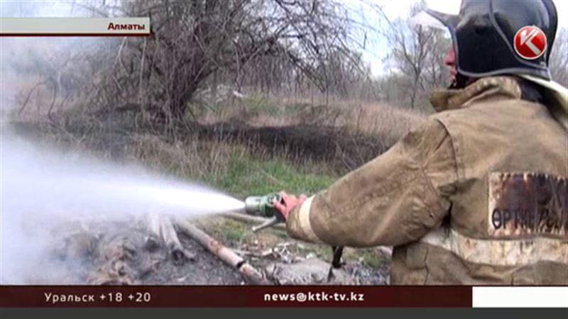 Алматинские спасатели призвали горожан не жечь костры
