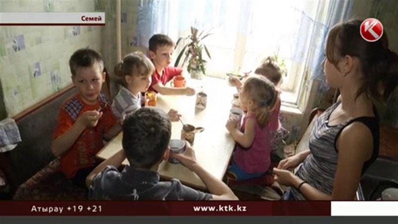 Жители Семея объединяются, чтобы помочь многодетным семьям