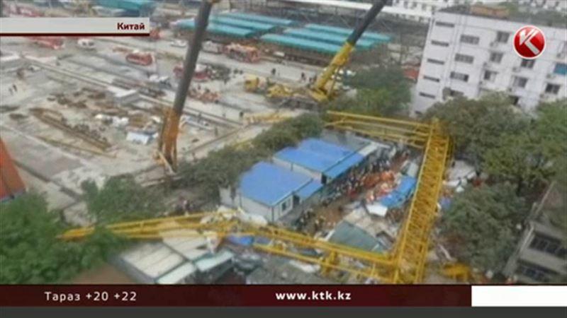 Трагедия на стройке в Китае унесла жизни 12 человек