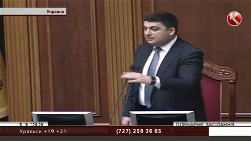 Нового премьер-министра Украины избирали под крики «Позор!»