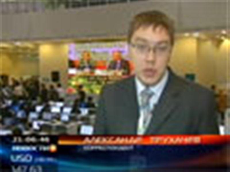Пресс-центр саммита ОБСЕ заполнен практически полностью: здесь работает около полутора тысяч журналистов