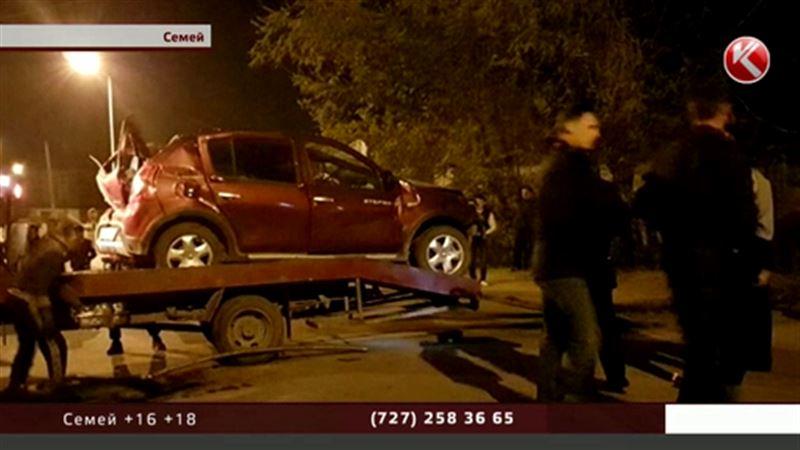 В Семее в страшном ДТП погибли пять человек