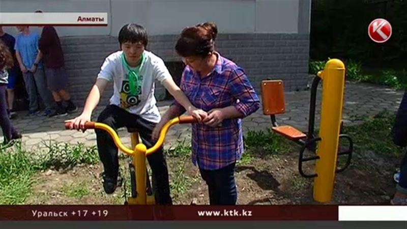 В Казахстане открыли первую спортплощадку для людей с ограниченными возможностями