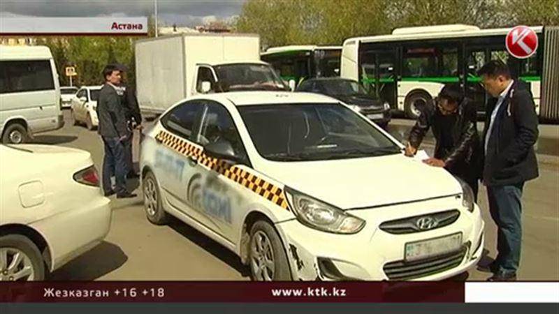 В Астане объявили охоту на нелегальных таксистов