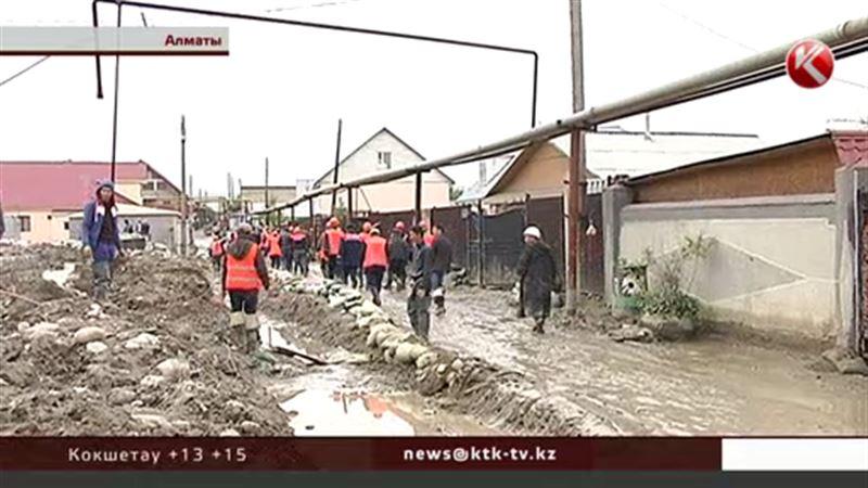 В Алматы завершены работы по ликвидации потопов, но довольны не все