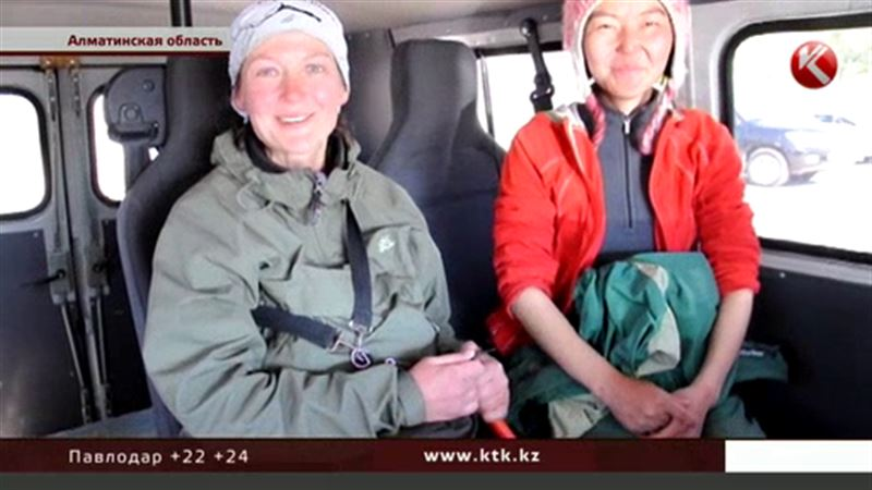 Алматинские спасатели отыскали туристок из России
