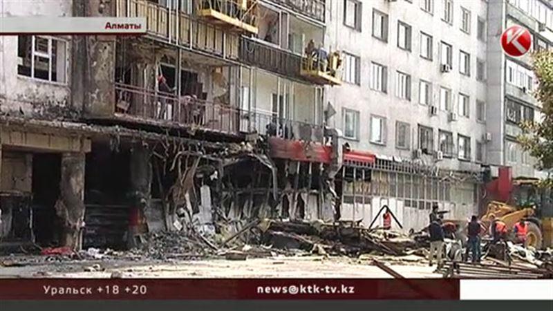 Сгоревший супермаркет «Юбилейный» отстроят заново