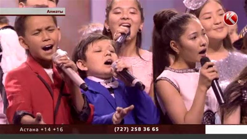 Стартует первый национальный детский песенный конкурс «Бала дауысы»