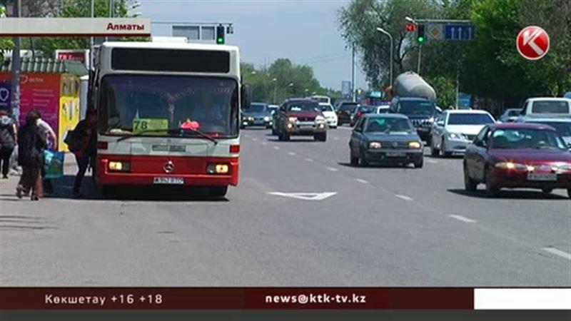 Алматыда автобустарға арналған тағы бір қосымша жолақ пайда болды
