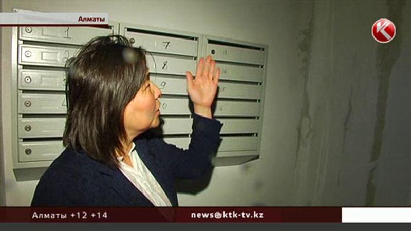 Алматинцы, получившие квартиры по госпрограмме, спасают их от воды