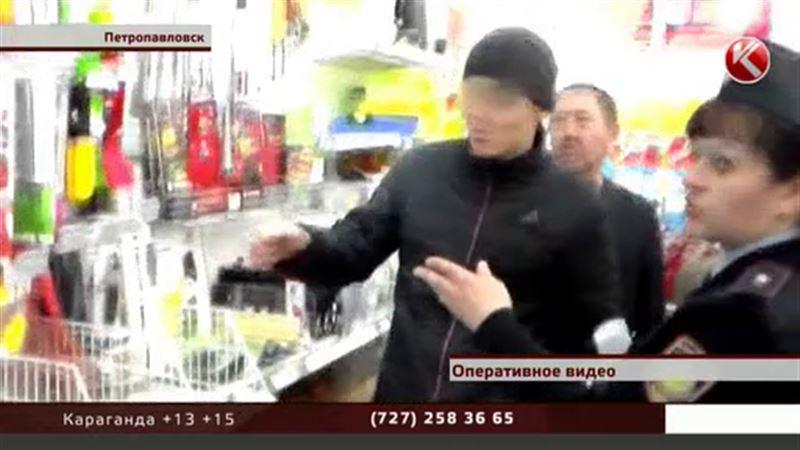 В Петропавловске азартный болельщик решил ограбить магазин