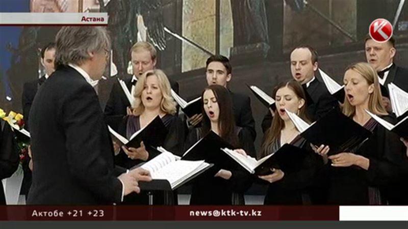 В Астане выступил камерный хор Смольного собора