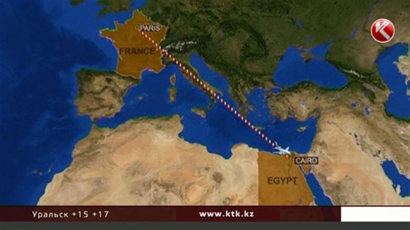 Нашли останки одного погибшего и личные вещи пассажиров EgyptAir