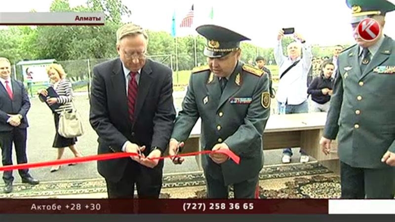 У казахстанских пограничников новый учебный центр