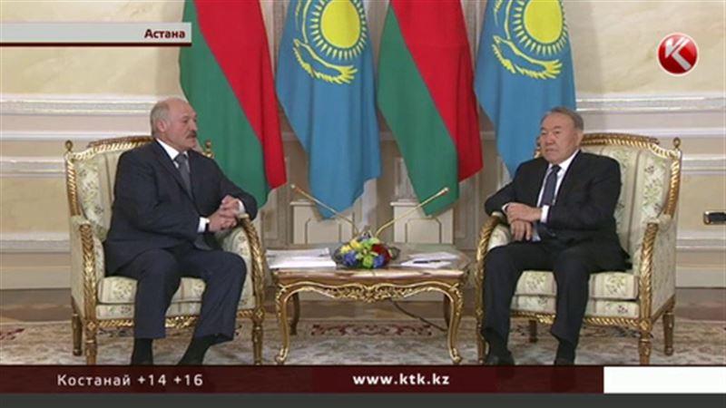 Назарбаев и Лукашенко уединились, не дожидаясь Путина