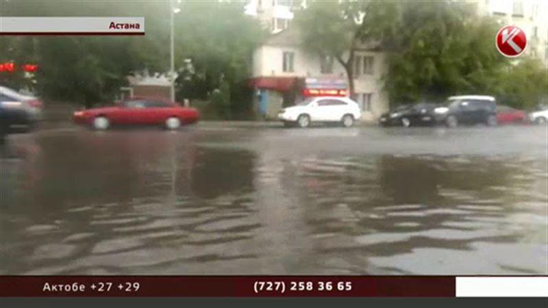 Астана борется с Венецией за звание самого мокрого города