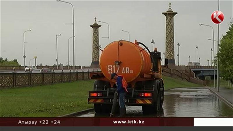 Астана будет погружаться в воду еще два года