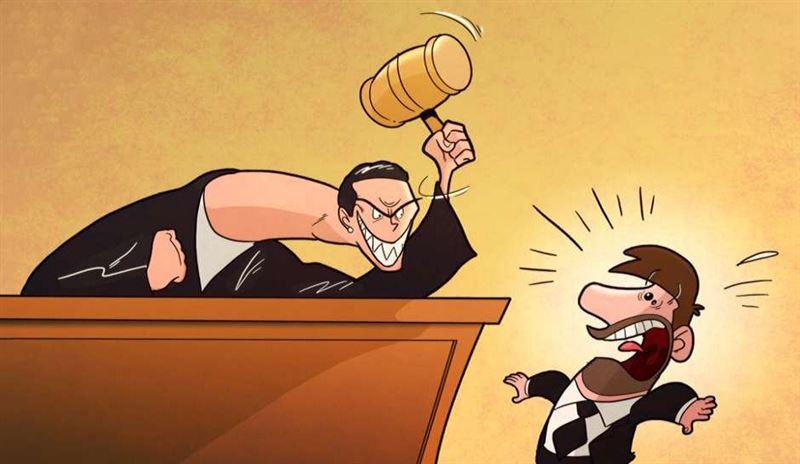 «Да здравствует наш суд! Самый гуманный суд в мире!»