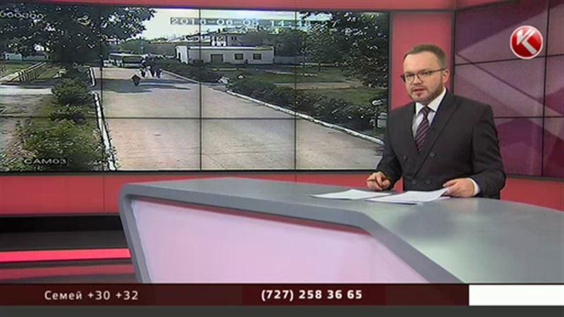 ЭКСКЛЮЗИВ: Кадры захвата воинской части в Актобе