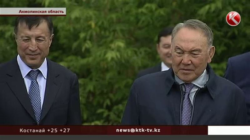 Назарбаев традиционно выпускал фазанов, один улетать отказался