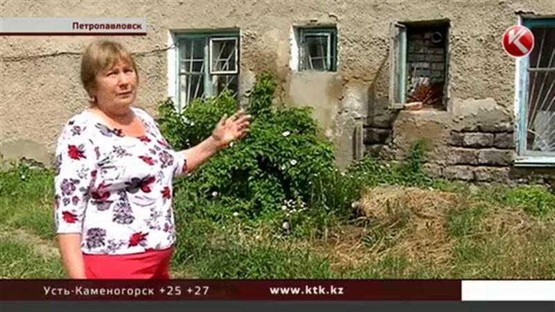 В Петропавловске шлакоблочные дома рушатся на глазах