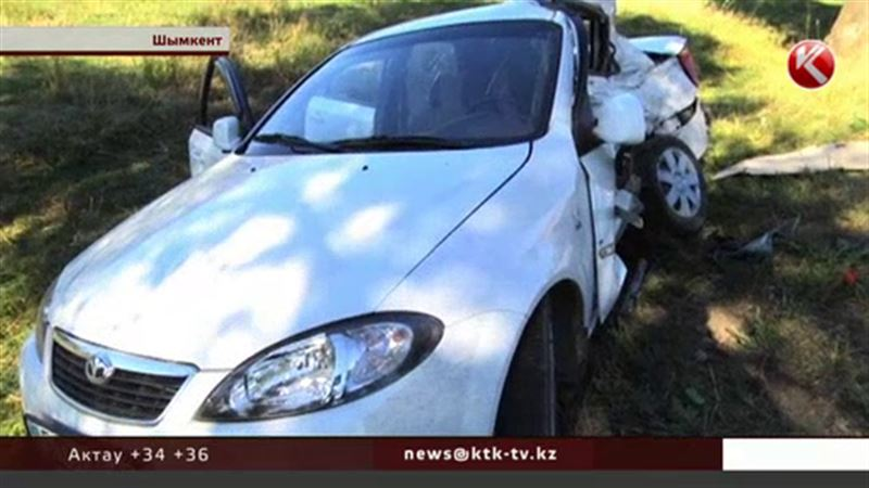 В Шымкенте в ДТП погиб ребенок