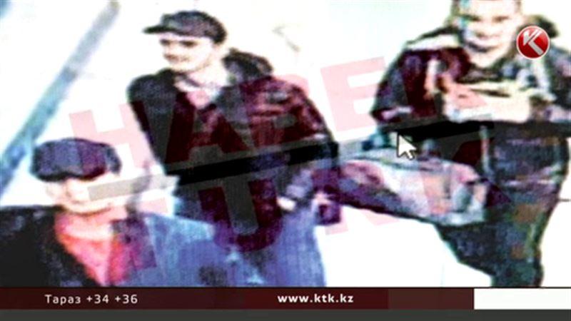 Түркия әуежайын жарғандар бейнебақылау камерасына түсіп қалған
