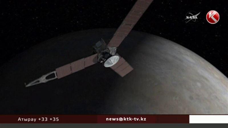 Жерден ұшырылған спутник Юпитерге жетті