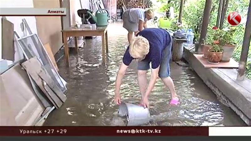Заливает: круг виновных в потопах на алматинских дачах изменился