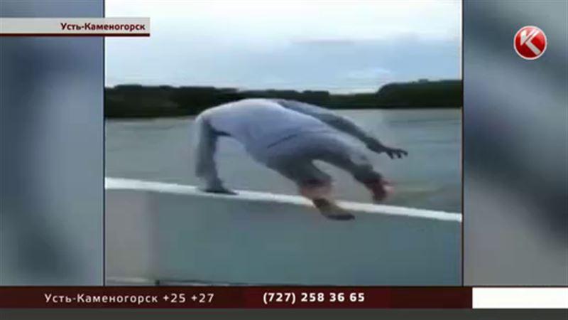 Заплыв со смертью: эффектное видео может стоить жизни парню из ВКО