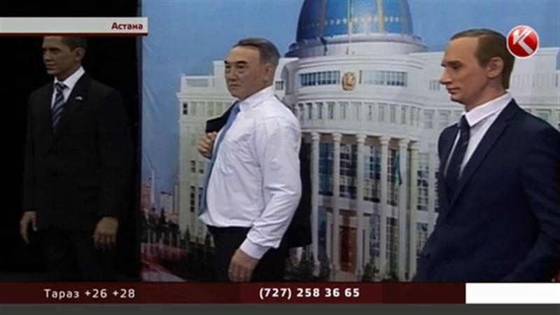 Из чего лепят президентов: необычная выставка открылась в Астане