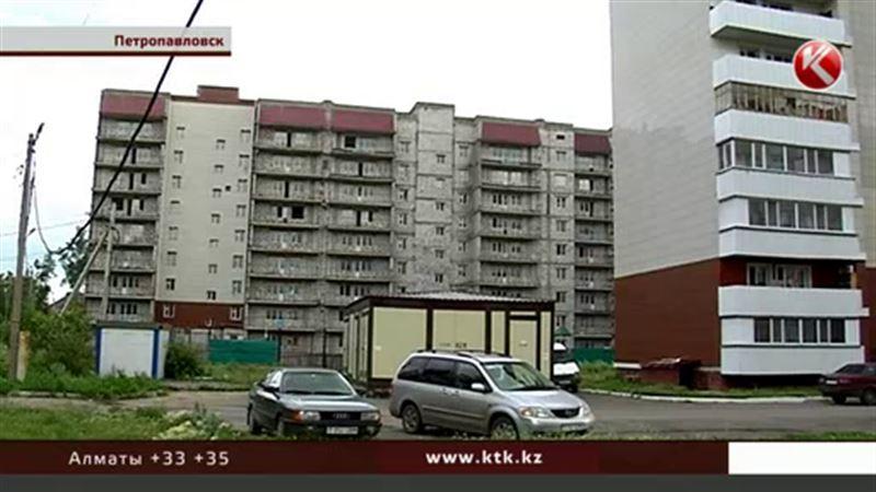 В Петропавловске очередников заселят в рассыпающийся дом