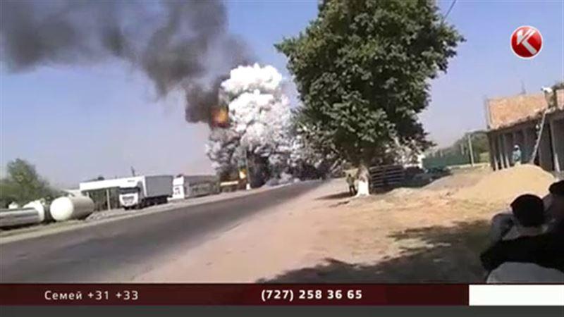 На АЗС во время перекачки топлива прогремел взрыв