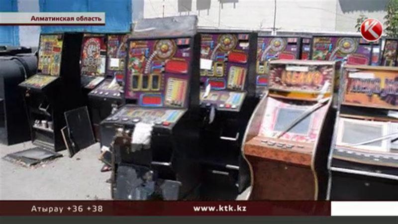 В подвалах Алматинской области нашли казино и зал автоматов