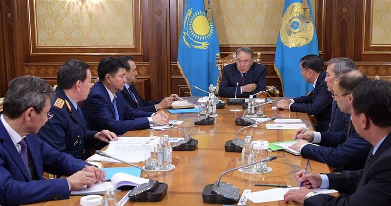 В Алматы произошел теракт – Назарбаев