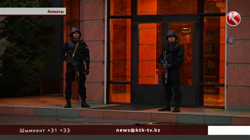 Уровень террористической опасности в Алматы снизили до  «желтого»