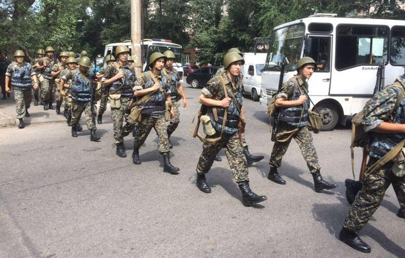 Оцепление снято: в Алматы завершилась спецоперация