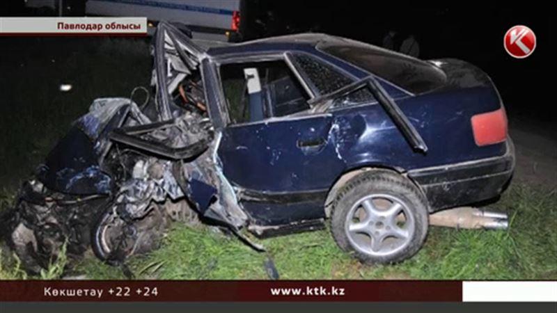 Павлодар облысында жантүршігерлік жол апаты болды