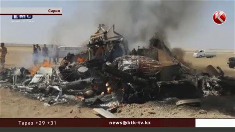 В Сирии сбили российский вертолёт Ми-8