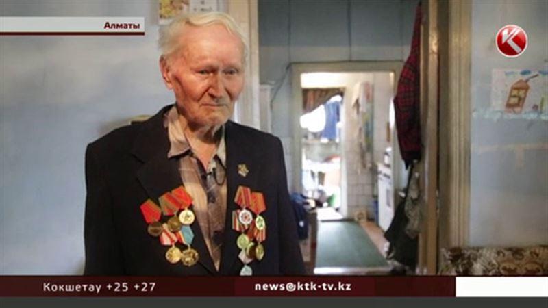 Алматинского ветерана Великой Отечественной бросили чиновники