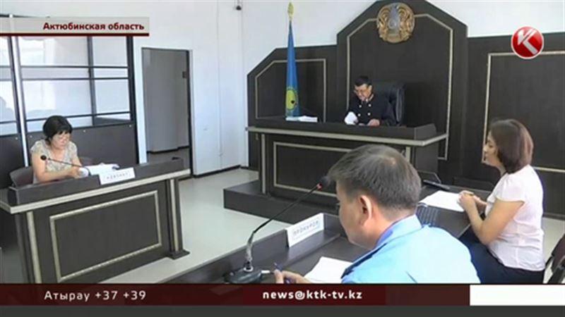 В Актюбинской области судят акима-убийцу