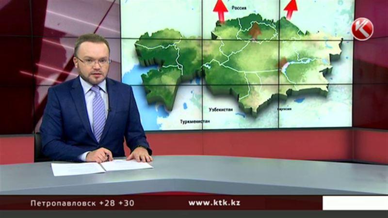Антициклон принес в Казахстан аномальную жару