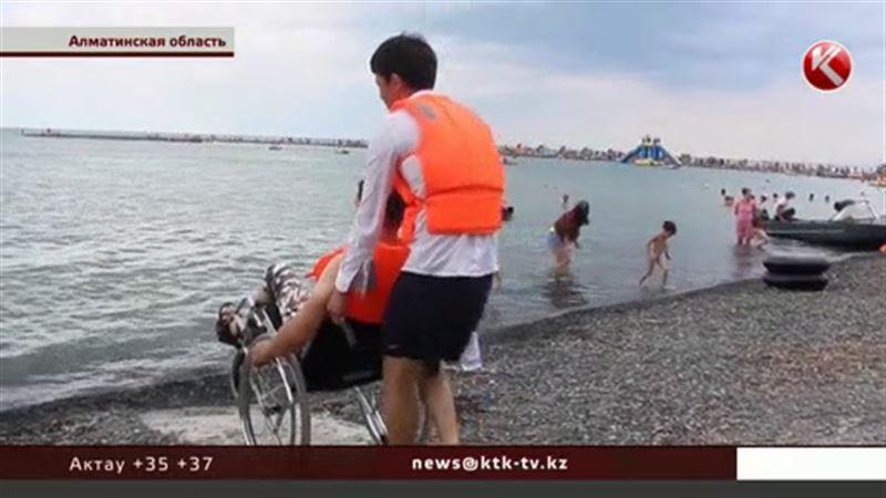 На Алаколе появился пансионат для инвалидов